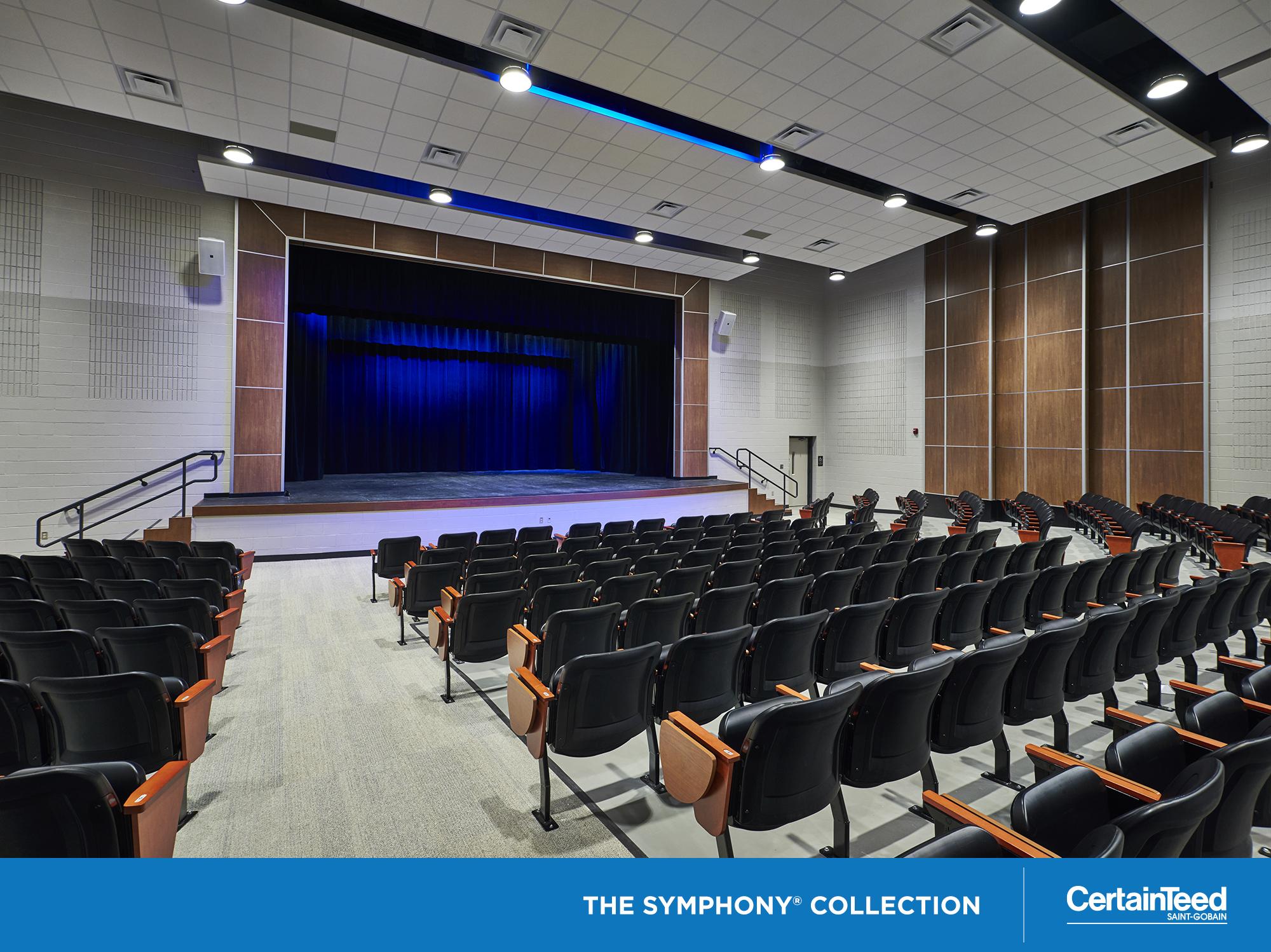 ADAGIO: Unique composite panel with encapsulated fiberglass | Highest combination of sound absorption & noise blocking | NRC 0.90